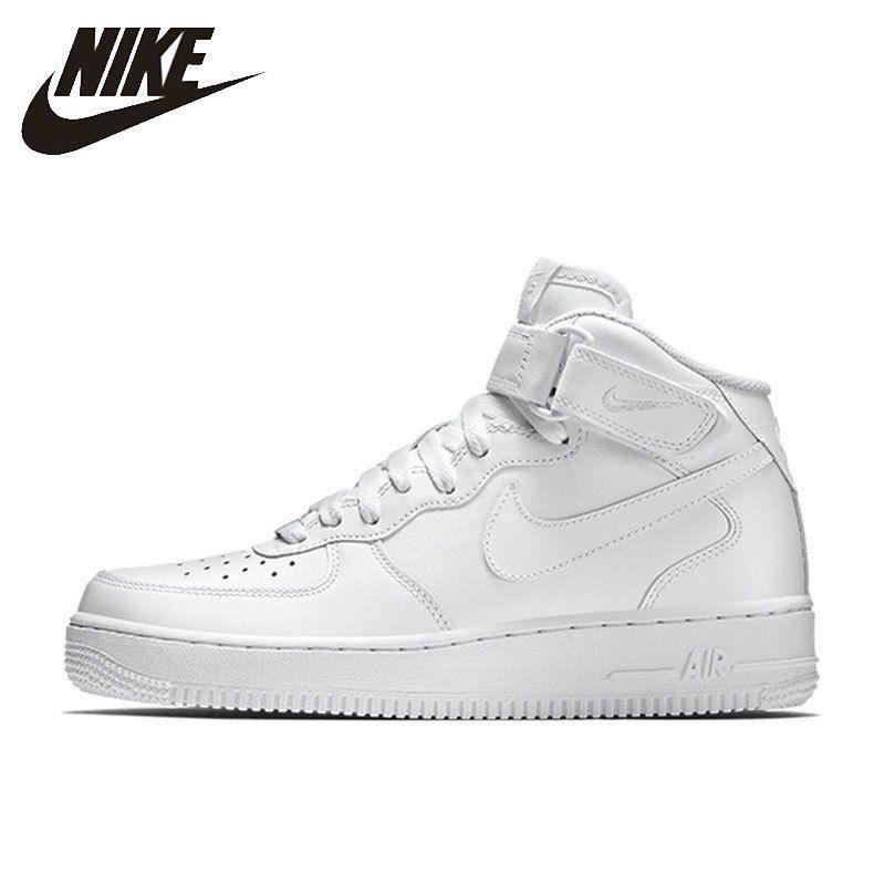 Nike NIKE AIR FORCE 1 MID '07 Original Neue Ankunft Offizielle Atmungs männer Skateboard Schuhe Outdoor Sport Turnschuhe #315123