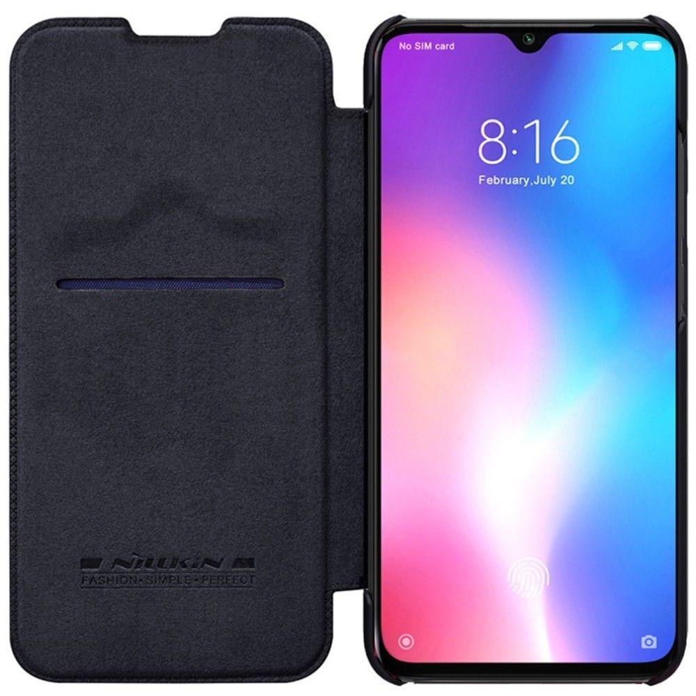 For Xiaomi Mi 9 Phone Case Nillkin Qin Flip Leather Cases Cover For Xiaomi Mi 9 SE / Xiaomi Mi 9 explore Book Style Cover