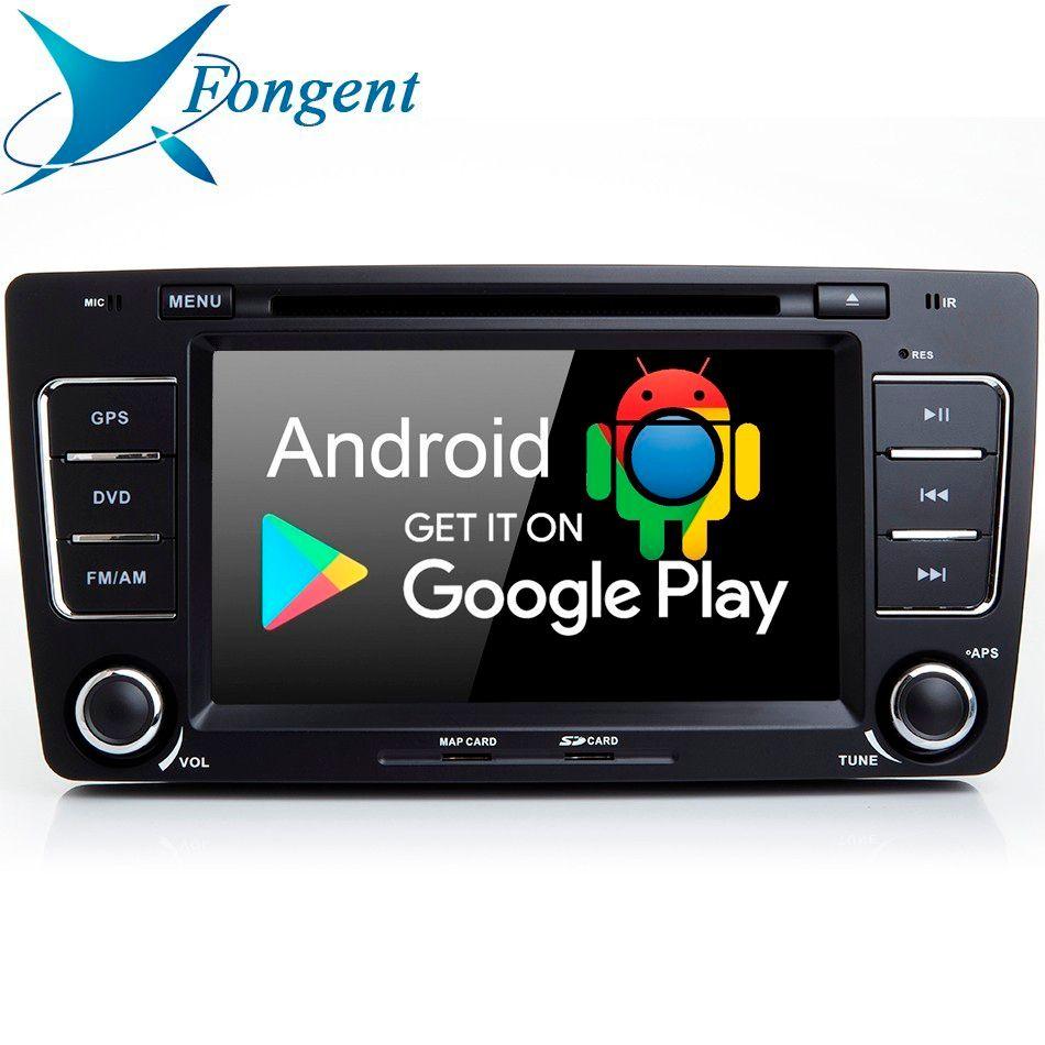 Für SKODA OCTAVIA 2009 2010 2011 2012 2013 2014 2015 Auto Android 9.0 Head Unit radio Stereo Audio GPS Navi Karte multimedia-Player