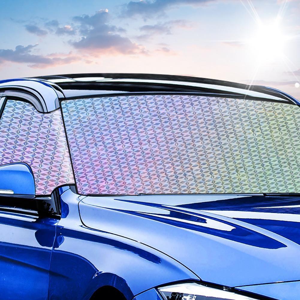 Car Window Sunshade Windshield Sun Shade Hassle-Free Car Sunshades Keep Your Vehicle Cool UV Sun Heat Reflector Sun Block