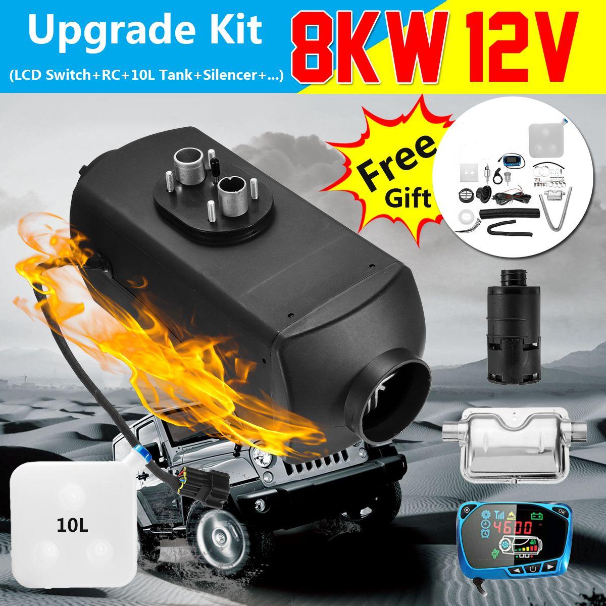 Luft Diesel/Heizung 8KW 12 V Planar LCD Für Auto Lkw Boote Motor-Häuser Neueste Kit Monitor für RV Wohnmobil Anhänger Mit Fernbedienung