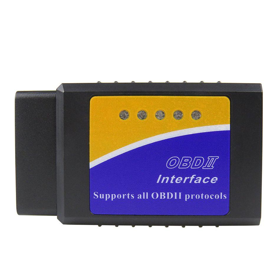 Le plus nouveau V1.5 Elm327 Bluetooth adaptateur Obd2 Elm 327 V 1.5 Scanner de Diagnostic automatique pour Android Elm-327 Obd 2 ii voiture outil de Diagnostic
