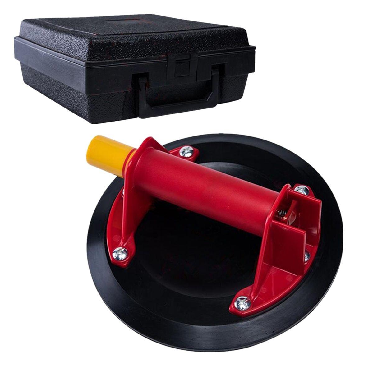 Hand Werkzeug Saugnapf Große Größe 8 zoll 206mm Vakuum Pumpe Glas Heber Saugnäpfe Saugnapf Dent Puller Mit fall