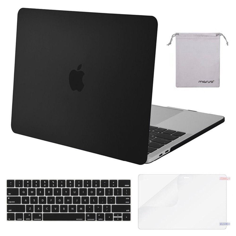 Mosiso Ordinateur Portable Carry Cover Cas pour Macbook Pro 13 15 avec/no touch bar A1708 A1706 A1990 Mac Cas accessoires 2016 2017 2018