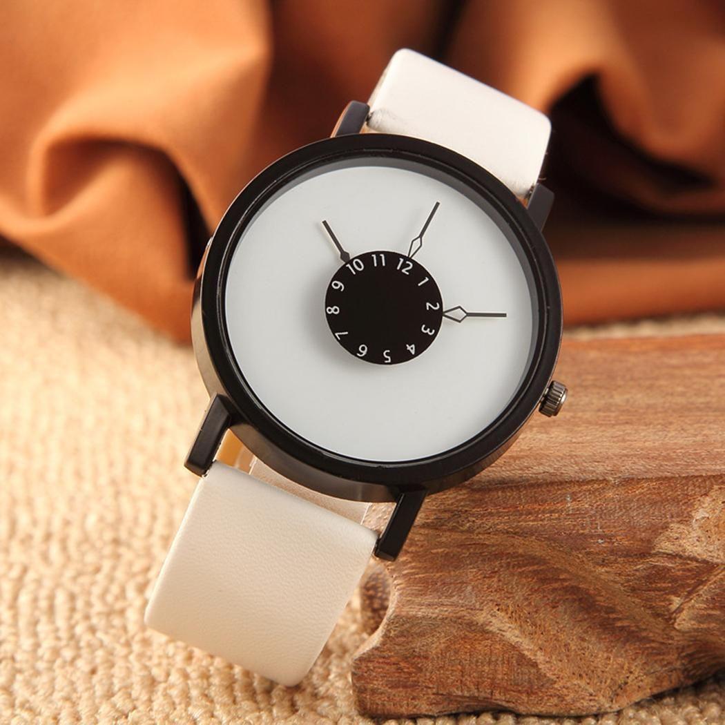 Высокое качество часы Ретро дизайн кожаный ремешок Аналоговый сплав кварцевые наручные часы для мужчин Роскошные Электронные...