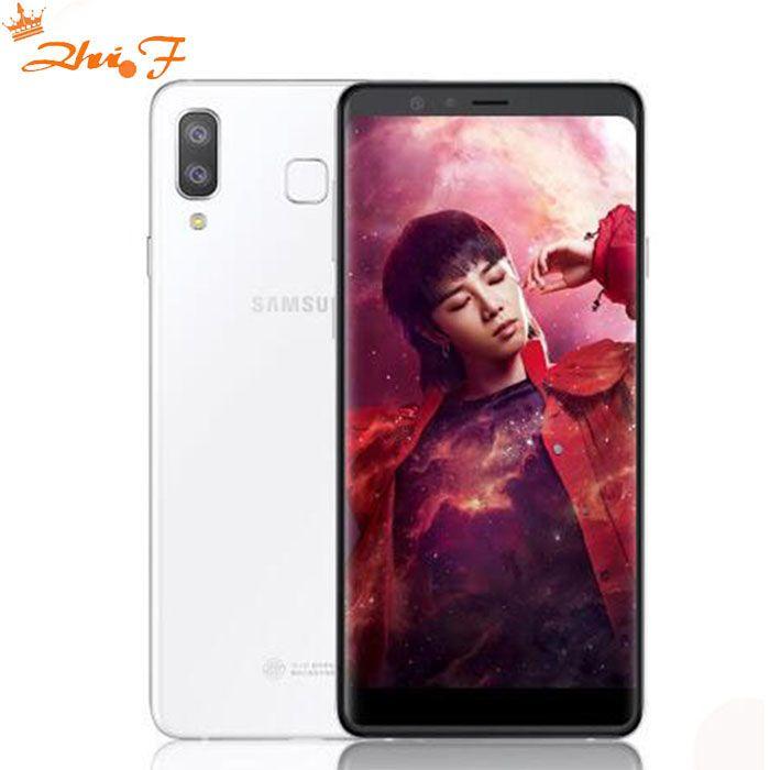 Samsung Galaxy Galaxy A9 G8850 4g LTE Handy 6,3 4 gb RAM 64 gb ROM Android 8.0 Dual hinten Kamera 16MP + 24MP Telefon