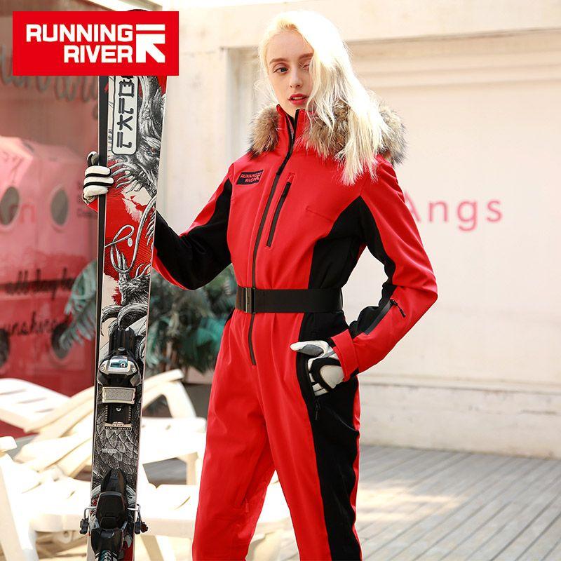 LAUF FLUSS Marke Wasserdichte Jacke Für frauen ski Anzug frauen skifahren Snowboard Jacke Weibliche Snowboarden Satz Kleidung # N9470