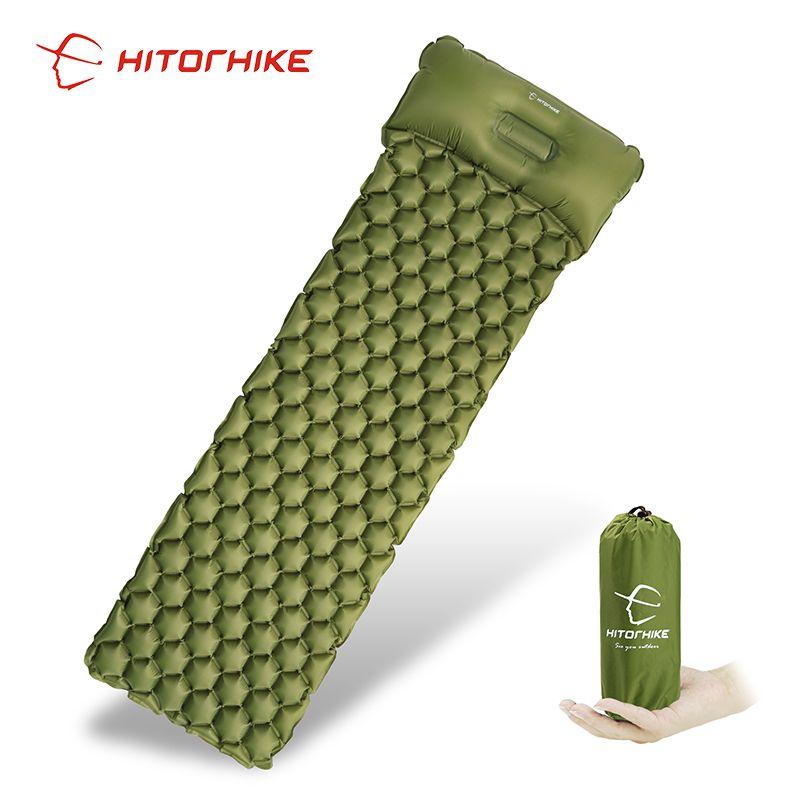 Tapis de couchage tapis de Camping avec oreiller matelas d'air pique-nique coussin gonflable tapis de couchage remplissage rapide air étanche à l'humidité lit d'air