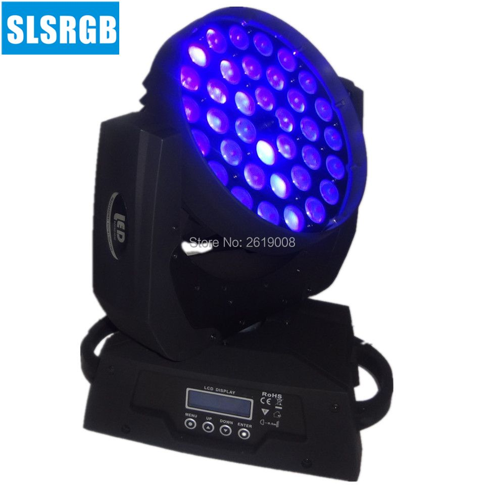 RGBWA + UV 6in1 36x18 w Strahl Zoom Led Moving Head Waschen dmx moving head waschen 36x18 w rgbwa uv 6in1 zoom led moving head licht