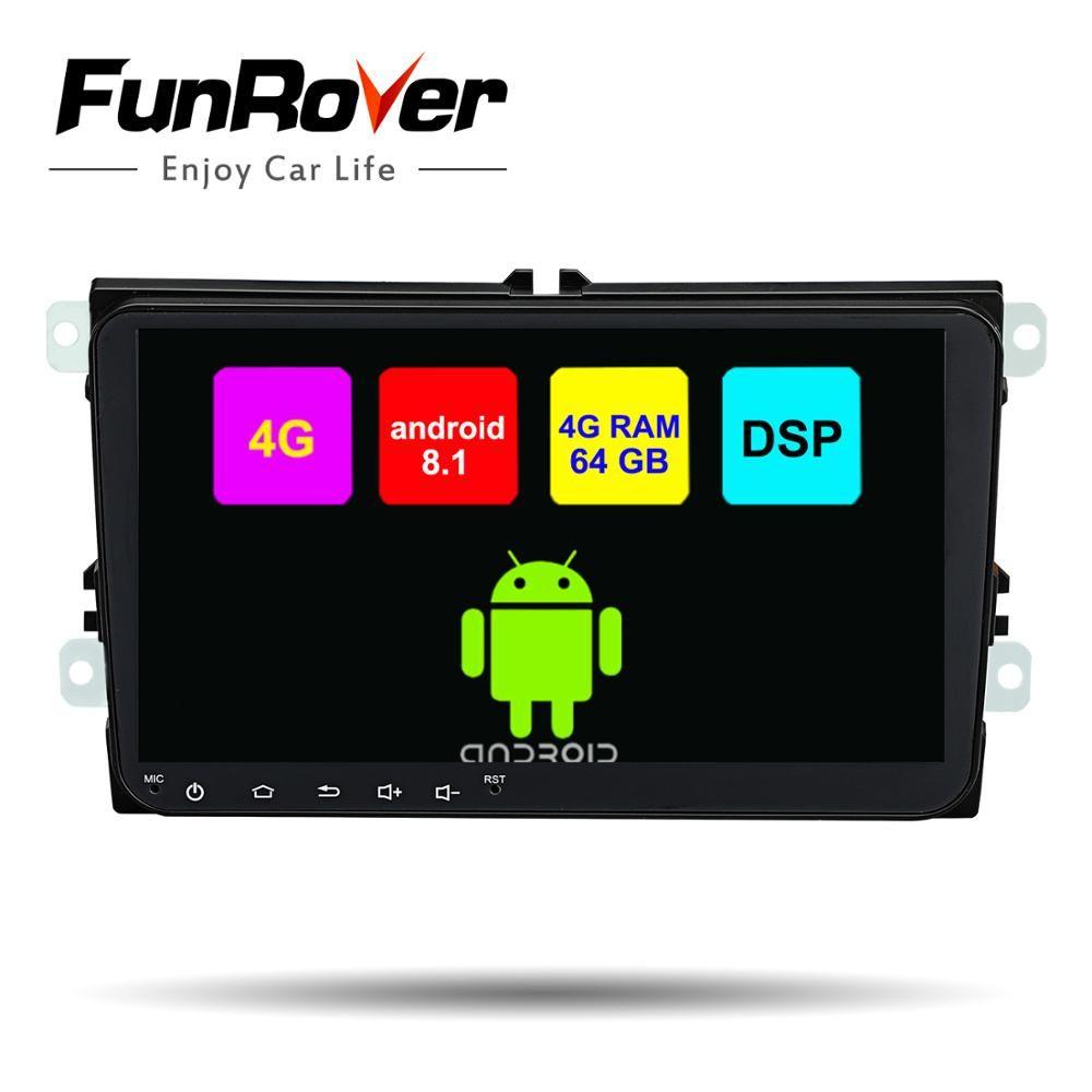 Funrover 8 Core 2 din Auto Multimedia-dvd-spieler Für Volkswagen/