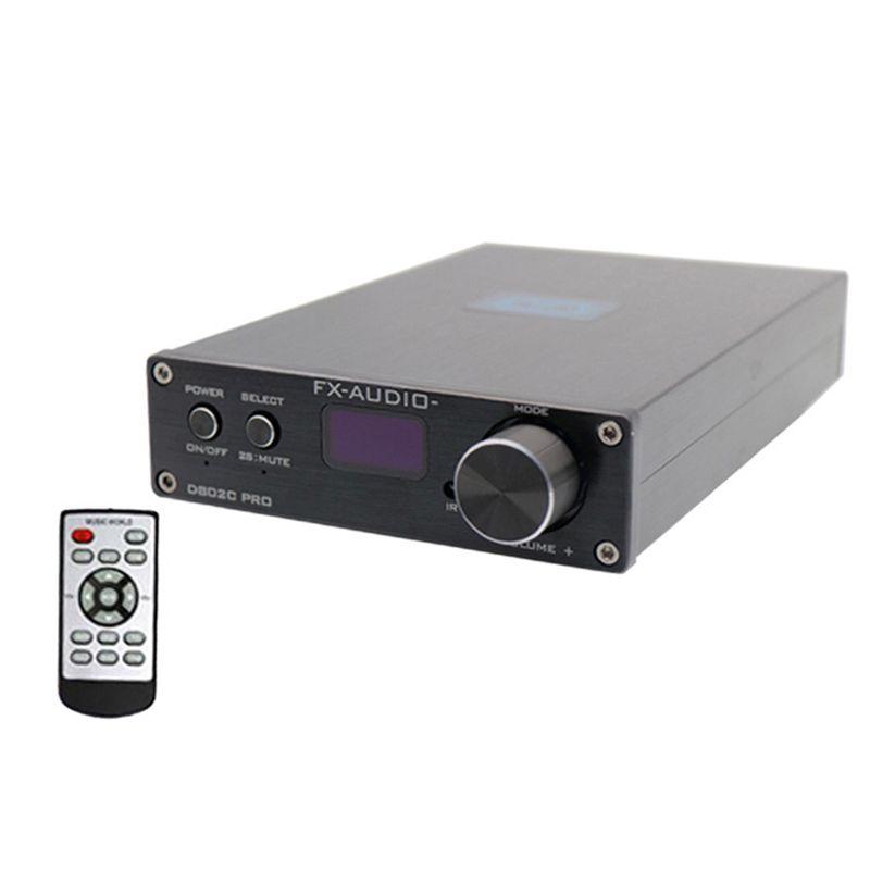 NFJ & FXAUDIO FX-Audio D802C PRO Drahtlose Bluetooth 4,2 Unterstützung APTX NFC USB/AUX/Optical/ koaxial Reine Digitale Audio Verstärker 2