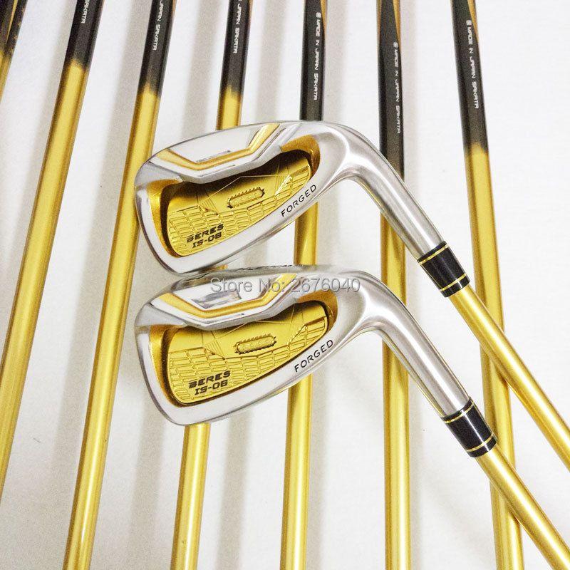 Clubs de Golf honma s-06 4 étoiles fers de GOLF clubs ensemble 4-11Sw.Aw Golf fer club Graphite Golf arbre R ou S flex livraison gratuite