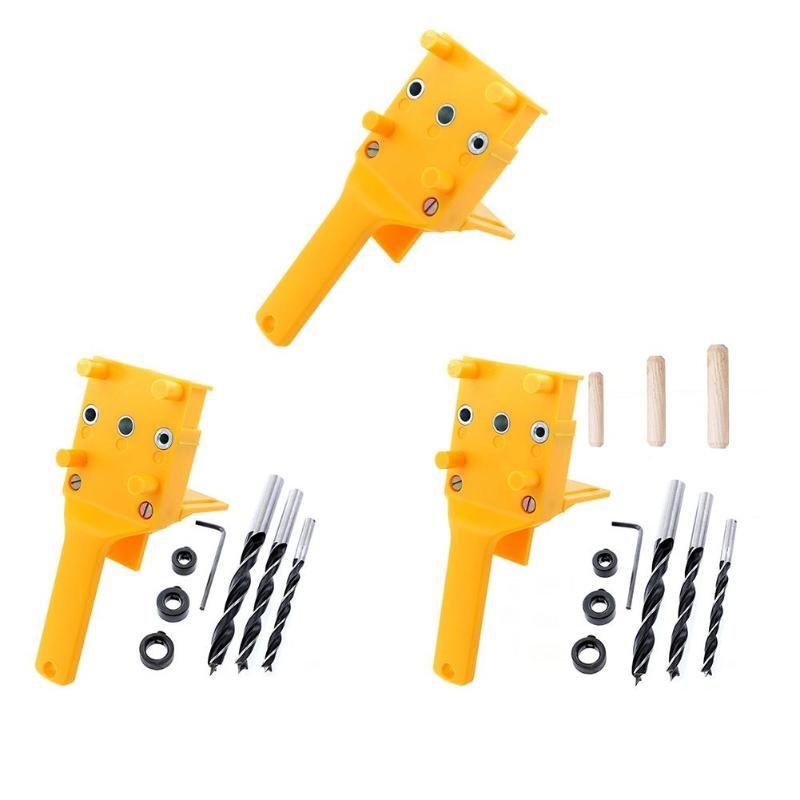 Gabarit de cheville ABS plastique gabarit de menuiserie trou de poche gabarit pour 6-10mm chevilles Joints outils de guidage de forage Guide de forage à main nouveau