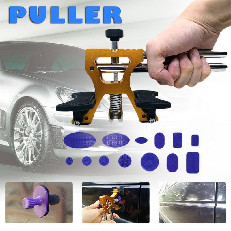 Automotive Sheet Metal Tools Dent Repairing Puller 2 In 1 Sliding Hammer Pull Hammer Car Body Dent Repair Tool Set