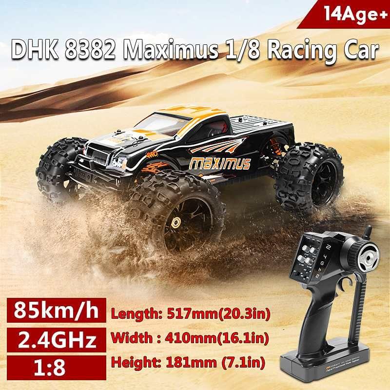 DHK 8382 Maximus 1/8 120A 85 KM/H 4WD KV2030 Bürstenlosen Motor RC Auto Für Kinder Geschenk Erwachsene Spielzeug