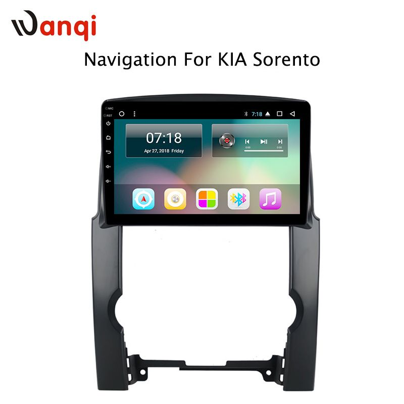 10,1 Zoll HD LED Full Touch Bildschirm Android 8.1 GPS Navigation für Kia Sorento 2009-2012 Stereo System mit Bluetooth