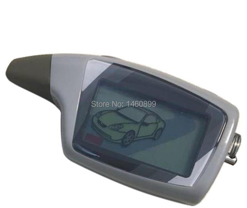 M5 LCD télécommande porte-clés pour la sécurité des véhicules russes système d'alarme de voiture 2 voies Scher Khan M5 scher-khan Magicar 5 porte-clés