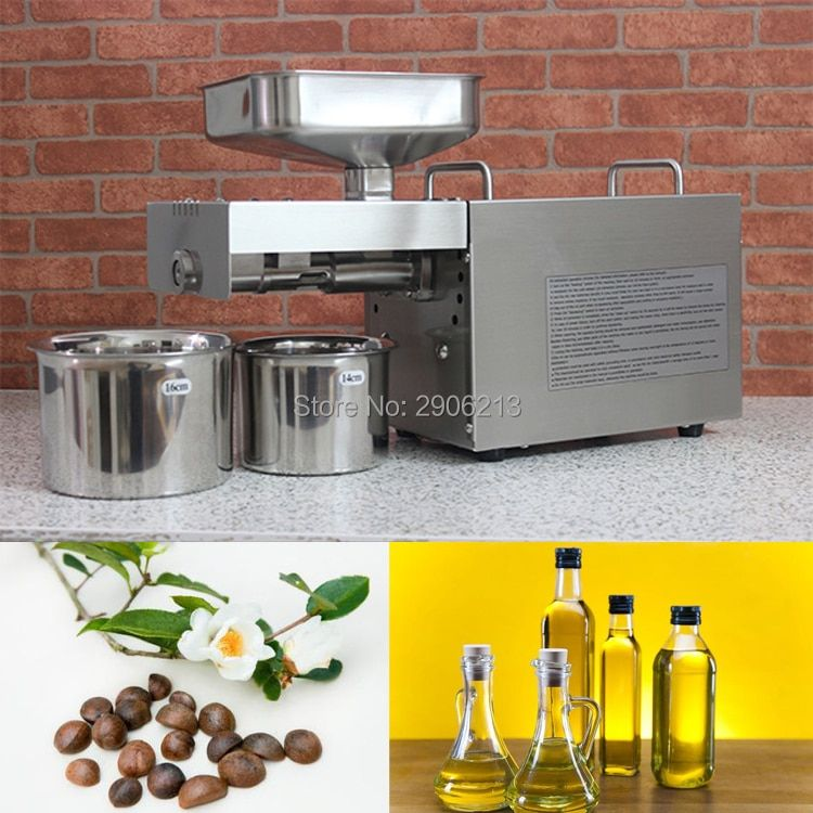 Stainless steel automatic cold press oil machine, camellia seeds oil extractor, oil cold press machine, oil press