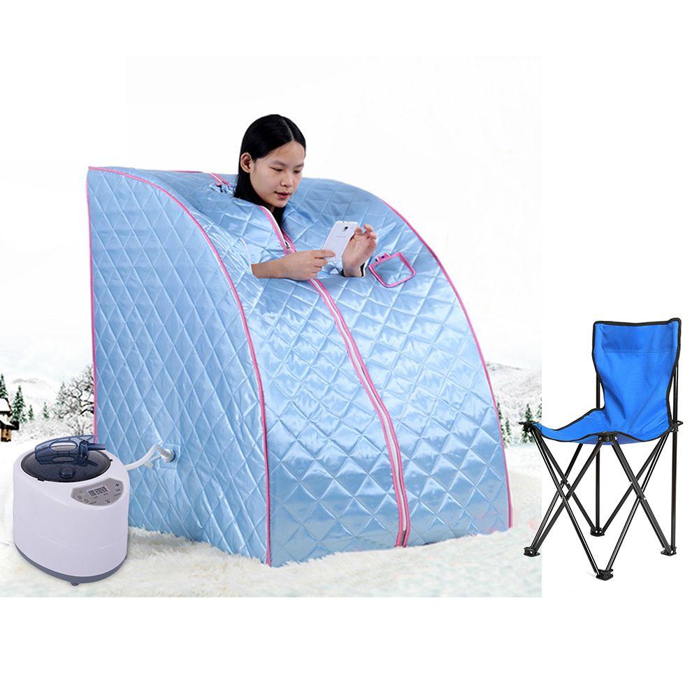 Praktische Tragbare Gesunde Dampf Sauna Zimmer Fical Detox Kalorien Verbrannt Sauna Zelt Tasche SPA Dusche Kabine Badehaus HWC