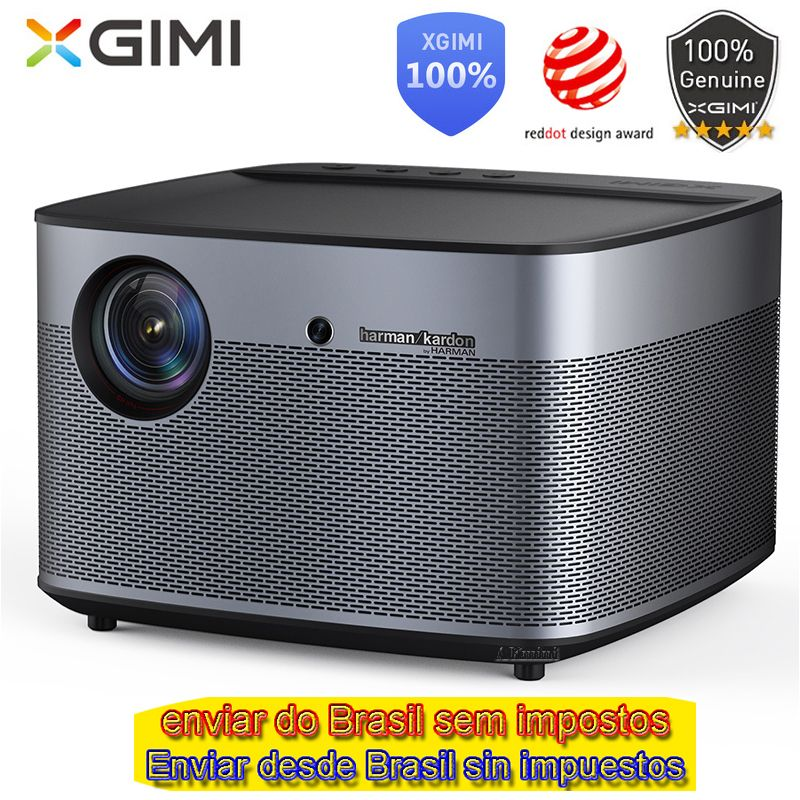 XGIMI H2 DLP Projector 1920x1080 Full HD Shutter 3D Support 4K Video Android 5.1 Bluetooth Wifi Home Theater Beamer