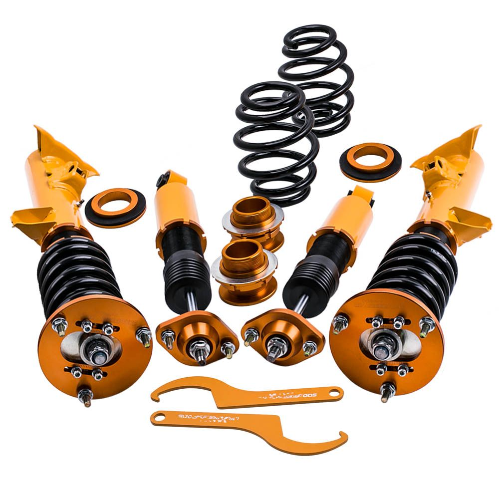 Racing Adj Absorber Coilovers Kit Shock Suspension for BMW E36 93-99 3 Series M3 for 323is 325i 325is 325ic 328i 328is Spring