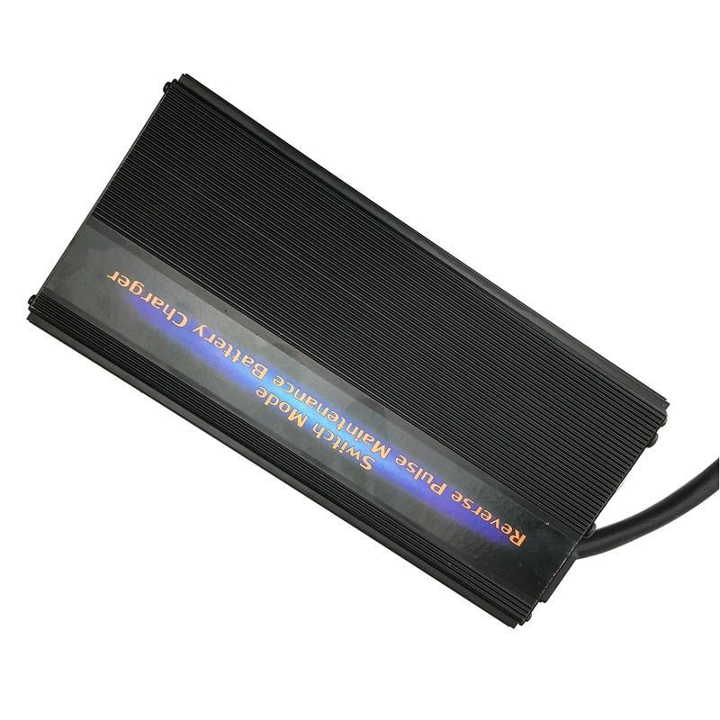 24V 40A Lorry Truck Battery Charger Maintainer Desulfator 7-step Pulse Maintenance-free Battery Charger for 200-500AH