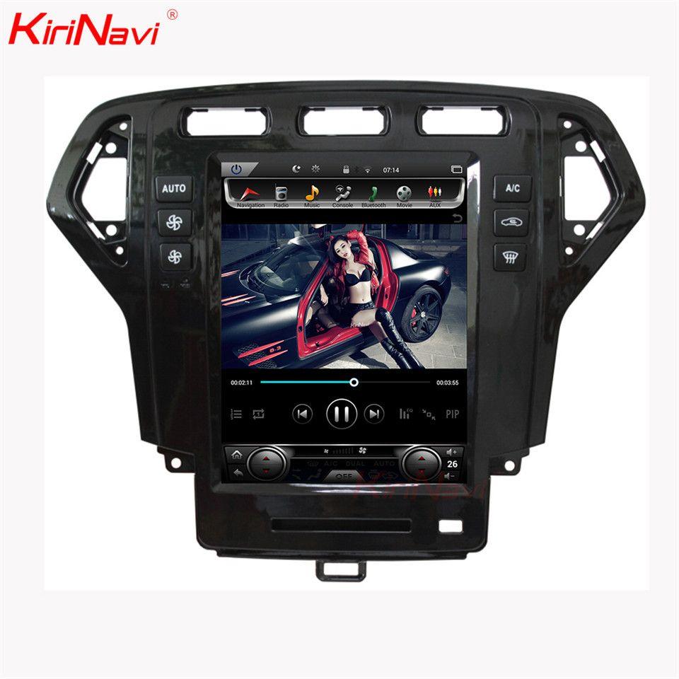 KiriNavi 10,4 ''Android 8.1 Auto Radio Für Ford Mondeo Auto Dvd Multimedia Player Android GPS Navigation 2007-2010 Auto radio WIFI