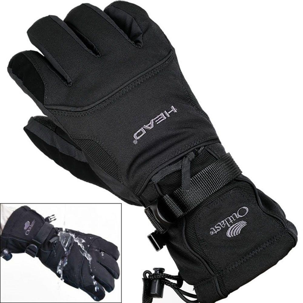-30 degree unisex warm snowboard gloves for winter men snow windproof guante nieve ski gloves 528TT