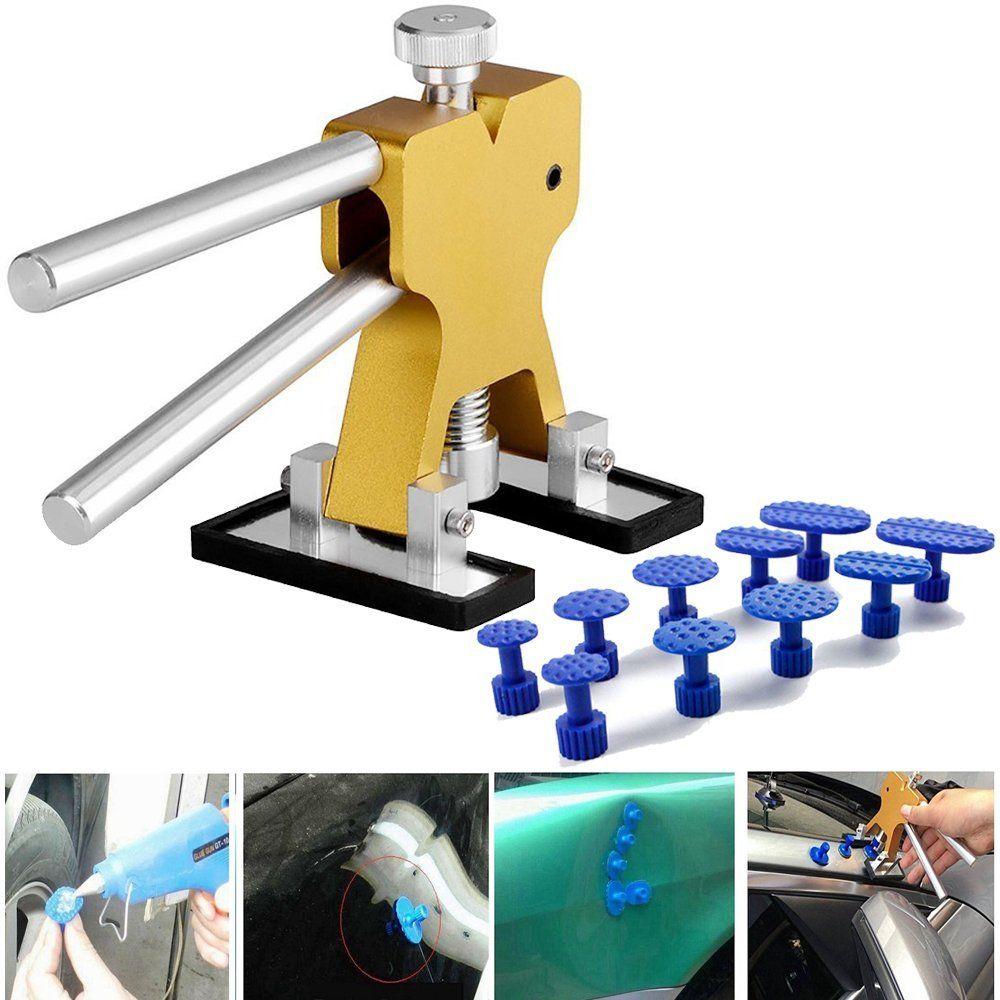 PDR Débosselage sans peinture outil de réparation Débosselage Dent Puller Tabs ventouse pour La Grêle Main Tool Set