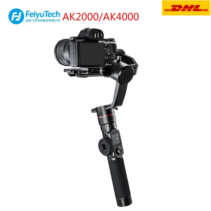 FeiyuTech AK2000 AK4000 3-Axis Handheld Camera Stabilizer Gimbal for DSLR Sony Canon Panasonic GH5 Nikon Estabilizador De Camera