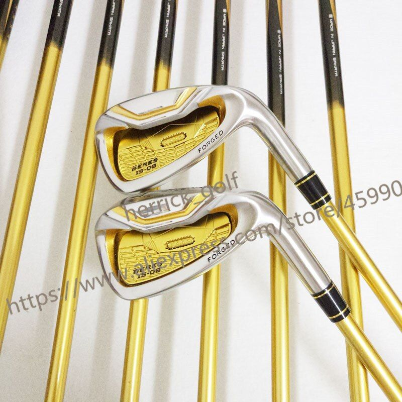 New mens Golf clubs IS-06 golf irons 4-11AW.SW Irons clubs with Graphite Golf shaft R or S flex irons clubs set Free shipping