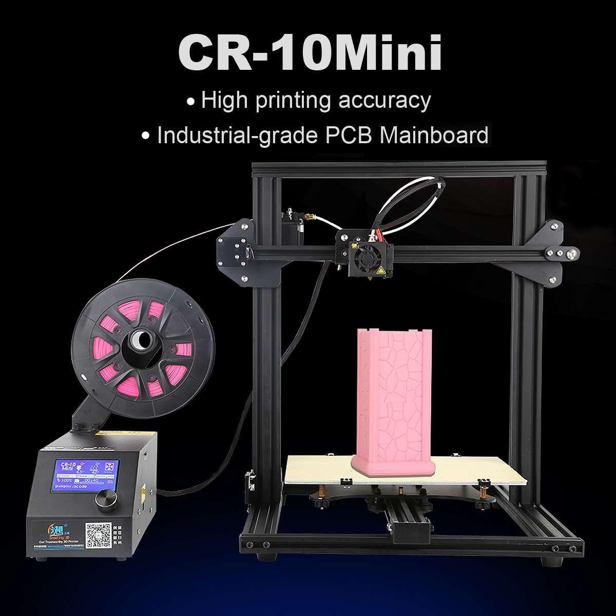 Creality 3D CR-10 3D Drucker Kit 300*220*300mm Große Druck Größe 1,75mm 0,4mm Düse DIY 3D Drucker Kit