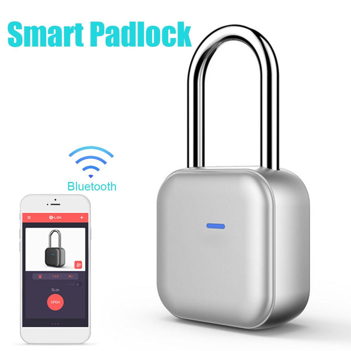 Mini Smart Bluetooth Vorhängeschloss Sicherheit für IOS/Android APP Intelligente Schrank Schublade Fahrrad Smart Lock Bluetooth