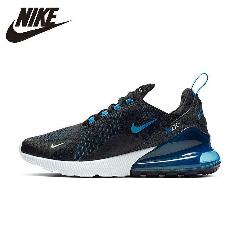 Nike Original Air Max 270 Mans Running Shoes Air Cushion Breathable Anti-slip Sports Sneakers# AH8050