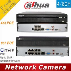 Free shipping Dahua NVR2104HS-P replace NVR2104HS-P-S2 NVR2108HS-8P replace NVR2108HS-8P-S2 4/8CH POE NVR Network Video Recorder