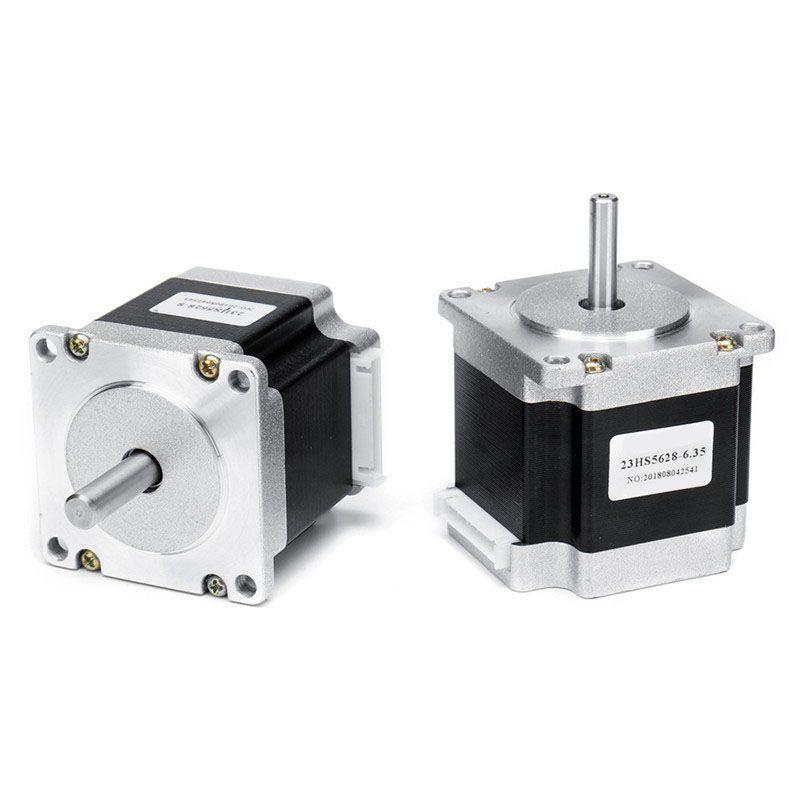 23HS5628 56mm Nema 23 Stepper Motor 57 Motor 2.8A 126N.cm 4-lead CNC Laser Grind Foam Plasma Cut Engraving Machine High Quality