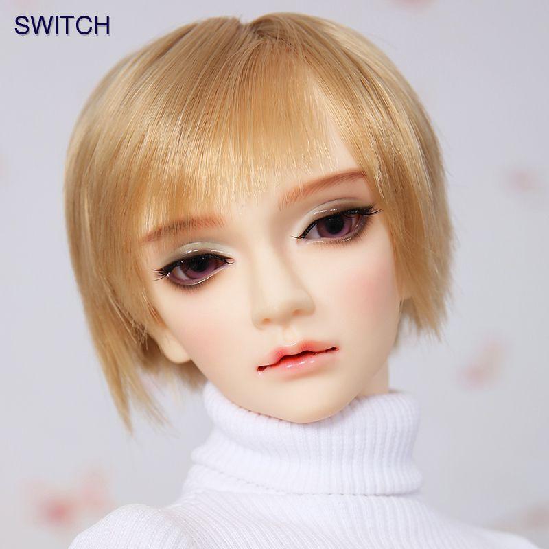 OUENEIFS Ryun Schalter bjd sd puppen 1/3 körper modell mädchen jungen augen Hohe Qualität spielzeug shop harz