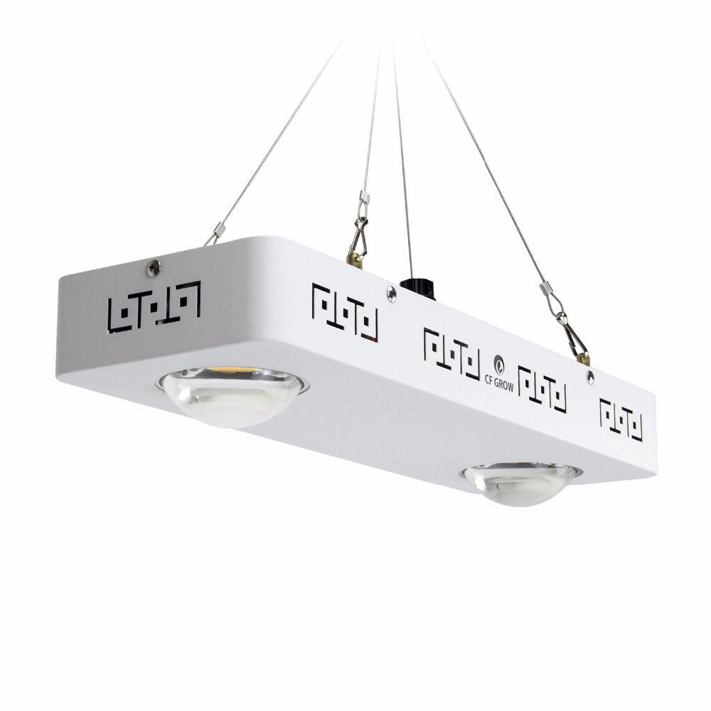 Dimmbare Voll Spektrum COB LED Wachsen Licht CREE CXB3590 200W 26000LM = HPS 400W Wachsen Lampe Indoor-Anlage wachstum Panel Beleuchtung