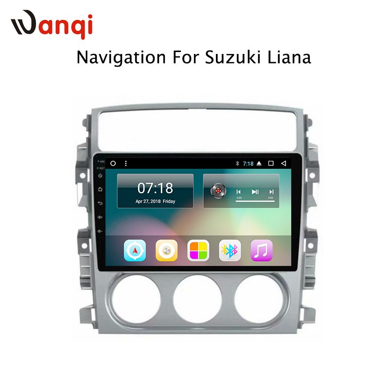 9inch 8Cores 2G RAM Android 8.1 Automotive Navigation Player for Suzuki LIANA 2006-2013 Support BT