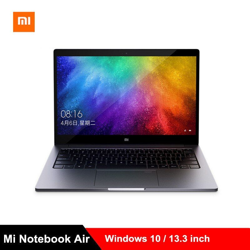 2019 Xiao mi mi Notebook Air 13,3 zoll Laptops Win10 Intel Core i5-8250U/i7-8550U Quad Core 8 GB 256 GB MX250 Fingerprint PC