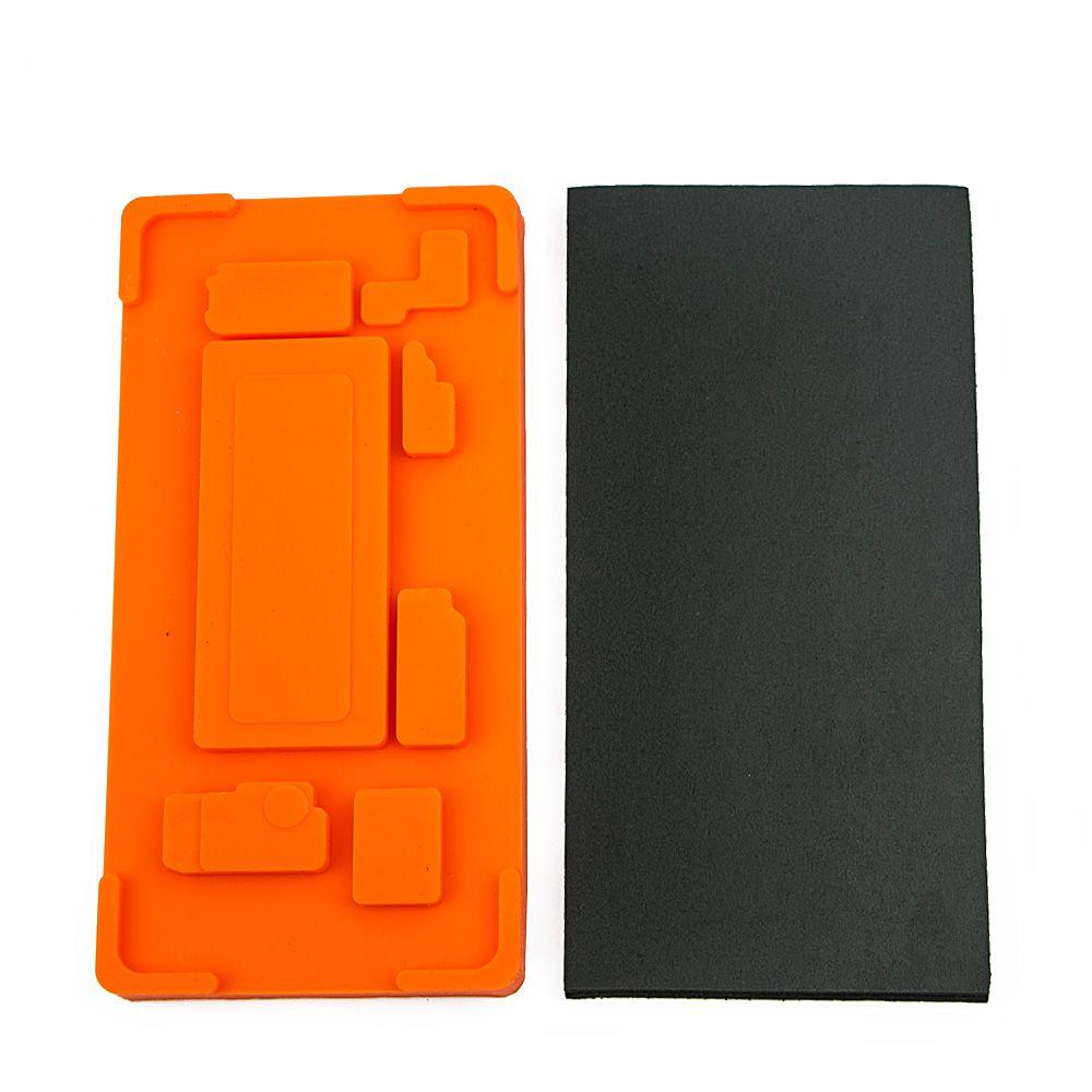 1 set In Rahmen Form OCA Laminieren Mould Gummi Pad für Samsung S7 Rand S8 S9 Hinweis 8 Hinweis 9 inframe Halter Touch Screen Reparatur