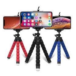 Tripods tripod for phone Mobile camera holder Clip smartphone monopod tripe stand octopus mini tripod stativ for phone