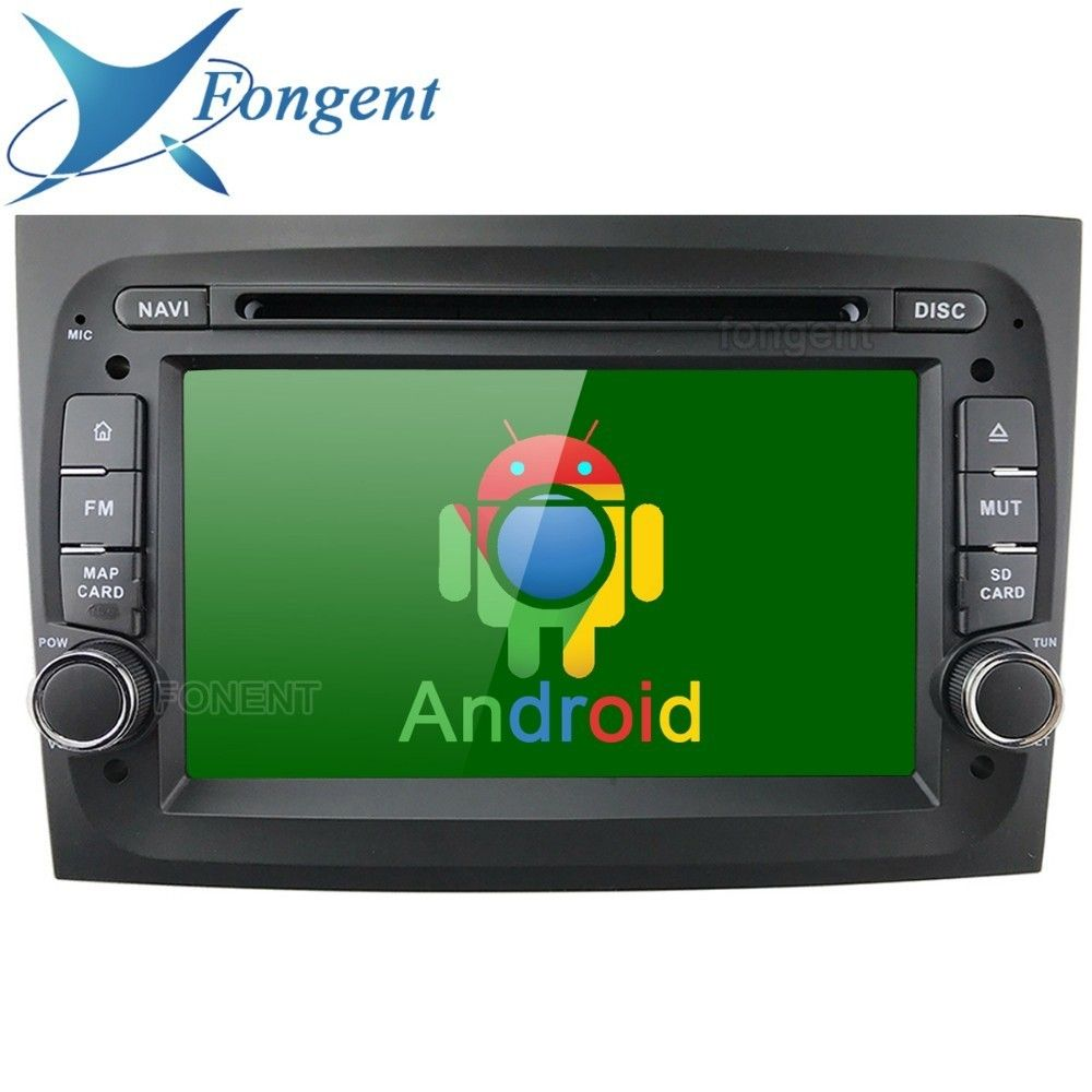 Android 8.1 Head Unit Car DVD Multimedia Player For Fiat Doblo 2015 2016 Vehicle 4G GPS Radio Navigation TPMS DVR DAB Stereo PC