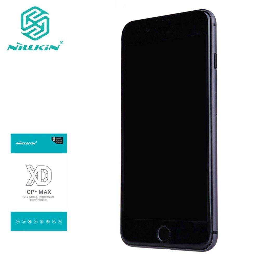 Pour iphone 8 plus verre NILLKIN XD anti-éblouissement protecteur d'écran pour iphone 7 8plus 8plus 3D sécurité protection verre trempé