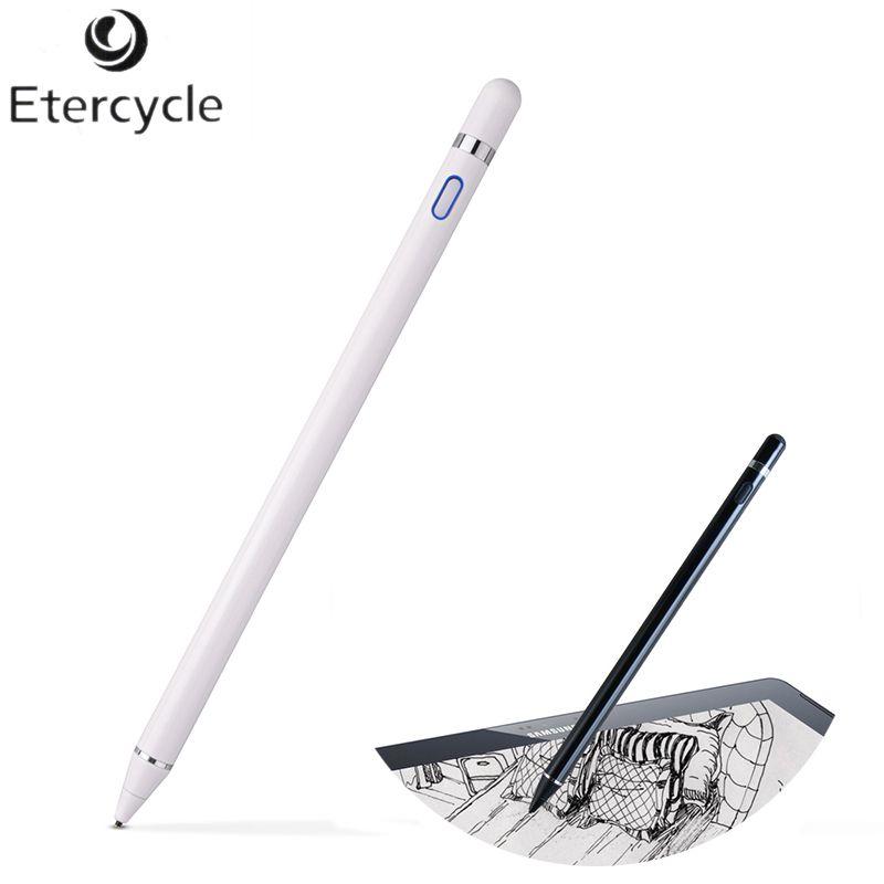 Universal Kapazitiven Stylus Stift für Apple Bleistift Hohe Präzision Touchscreen telefon Stift für ipad pro Tablet Smart pen für iphone