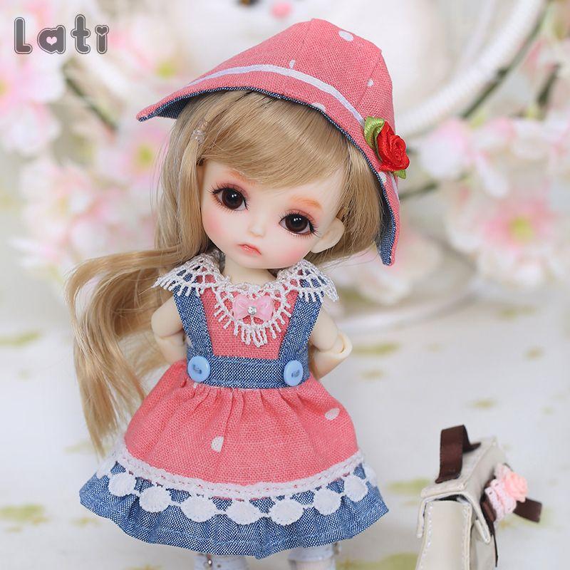 Livraison gratuite BJD poupées Lati jaune ensoleillé Lea Lami Kuro Coco 1/8 belle Flexible perruque vêtements chaussure oeil Pukifee Oueneifs luodoll