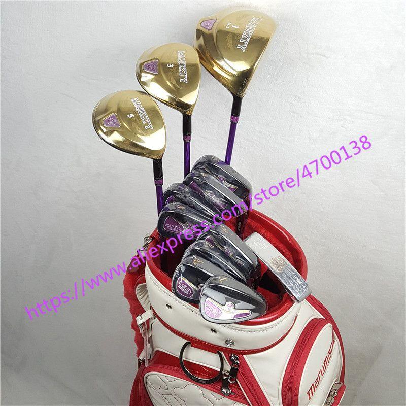 Frauen Golf clubs set Maruman Majestät Prestigio 9 Golf Komplette Set 11,5 loft Club Graphit Golf welle Kostenloser versand