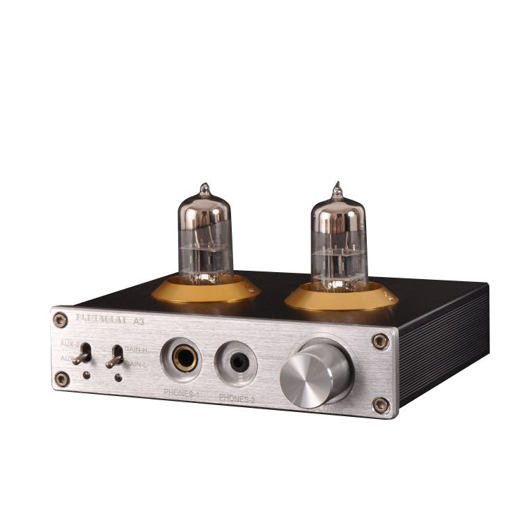 M7 HIFI 6N3 vacuum tube Headphone amplifier Join the MAX9722 audio decoder chip have high and low tone audio preamplifier A3