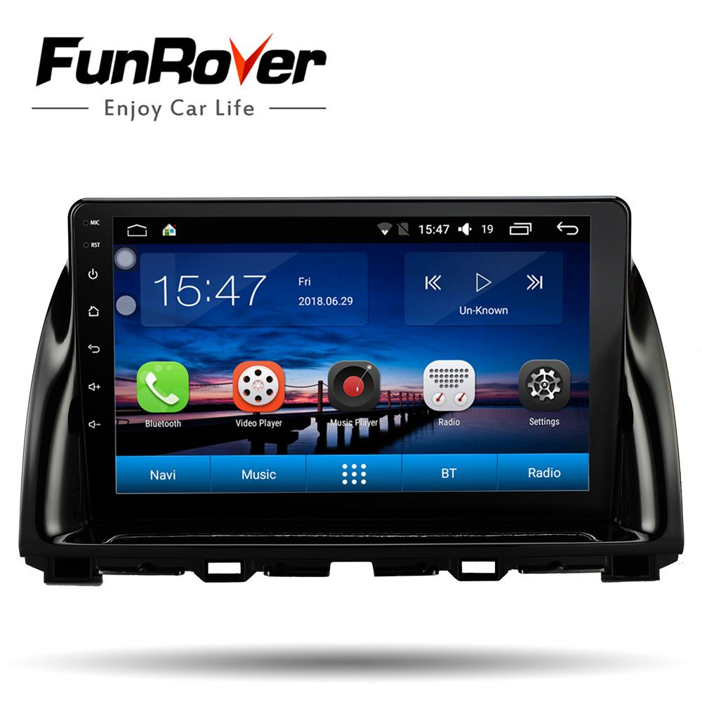 Funrover 9 ''android 8.0 2 din auto multimedia player für Mazda CX5 CX-5 2013-2016 gps navigation stereo radio wifi video wifi