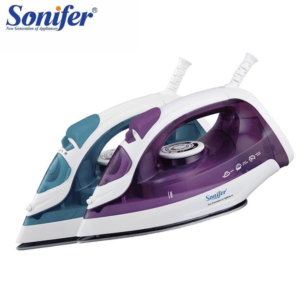 1600 W Mini Tragbare Elektrische Dampf Eisen Für Kleidung Multifunktions Einstellbare Keramik bügelsohle eisen für bügeln Sonifer